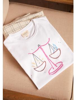 Astro Libra T Shirt by Sézane