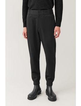 seersucker-cotton-trousers by cos