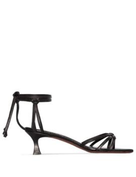 sandalen-mit-knöchelriemen by manu-atelier