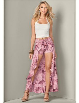 Tie Dye Maxi Skirt by Venus