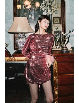 Destiny Sequin Dress by Bnkr