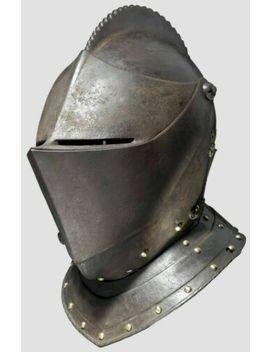 antique-collectibles-medieval-knight-armour-closed-warrior-helmet-replica-item by ebay-seller