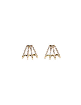 multi-huggie-diamond-studs by ef-collection