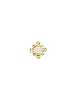 gold-bead-charm-single-earring by zoë-chicco