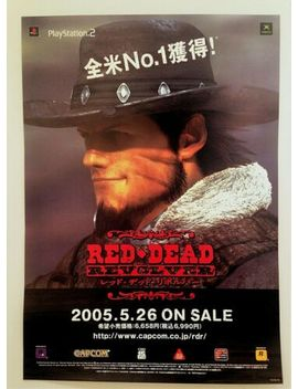 red-dead-revolver---rare-official-store-promo-poster by rockstar