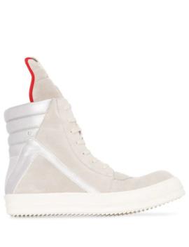 hi-top-geobasket-sneakers by rick-owens