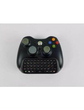 microsoft-xbox-360-wireless-controller-genuine-original-oem-with-chatpad by microsoft