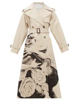 lovers-print-cotton-gabardine-trench-coat by valentino