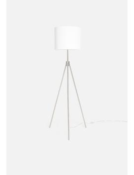 mantis-tri-floor-lamp---white by sixth-floor