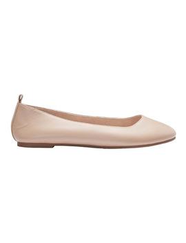 gaze-nude-glove-flat-shoes by sandler