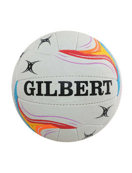 Gilbert Spectra T400 Netball White 4 by Gilbert