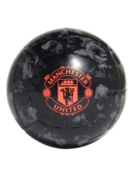 Adidas Manchester United Capitano Soccer Ball Black / Grey 5 by Adidas
