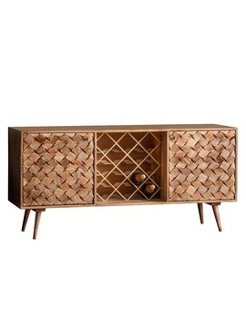 houseology-collection-terrasen-wine-sideboard-burnt-wax by houseology