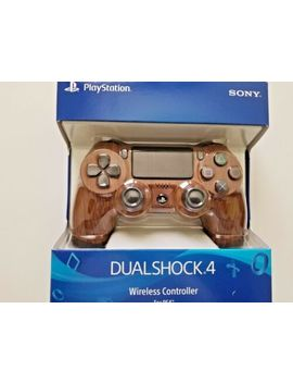 sony-ps4-custom-wood-grain-controller,--brand-new by sony