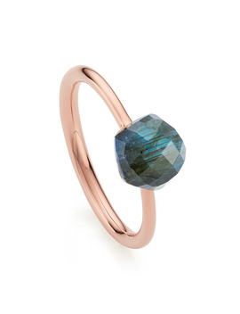 Nura Mini Nugget Stacking Ring   Limited Edition by Monica Vinader