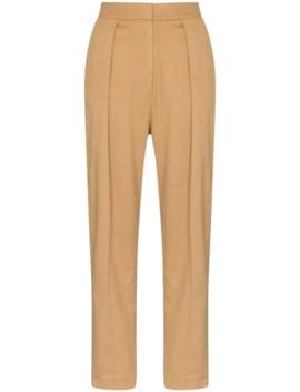 pleated-wide-leg-trousers by matériel