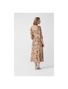 Leopard Print Silk Dress by Whistles