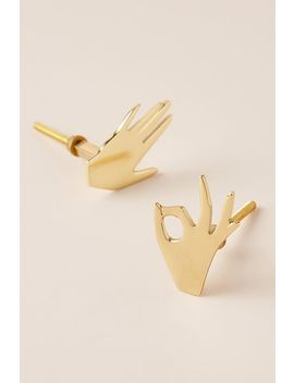 set-of-2-palmistry-knobs by anthropologie