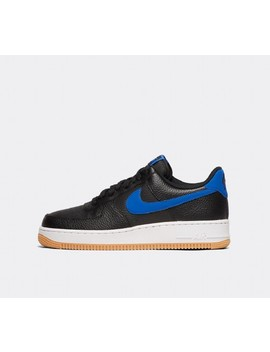 Air Force 1 '07 Trainer | Black / Game Royal / White / Gum by Nike