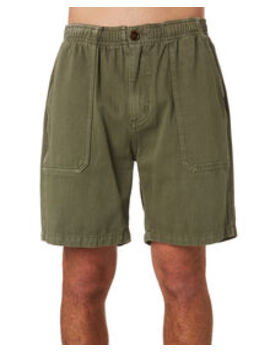 Dril Mens Elastic Waist Short by Thrills