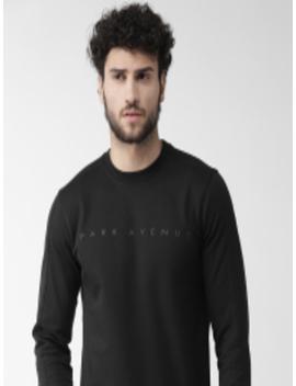 men-black-solid-sweatshirt by park-avenue