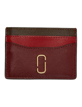 porte-cartes-rouge-snapshot by marc-jacobs