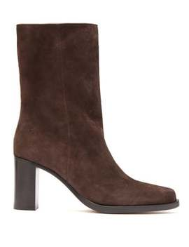 stacked-heel-suede-boots by legres
