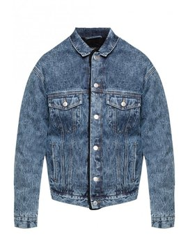 Padded Denim Jacket by Balenciaga