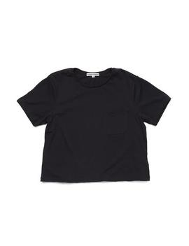 Boxy Crop Tee   Black by Ban.Do