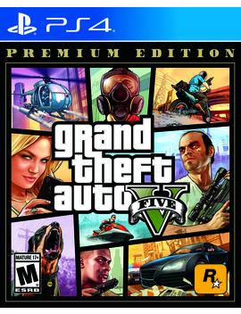 grand-theft-auto-v:-premium-edition,-rockstar-games,-playstation-4,-710425570322 by rockstar-games