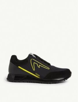 diabolick-runner-trainers by fendi