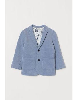 cotton-piqué-jacket by h&m