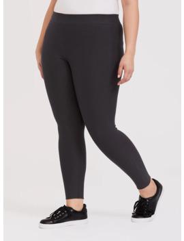 premium-legging---fleece-lined-dark-grey by torrid