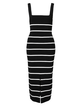 stripe-knit-dress by witchery