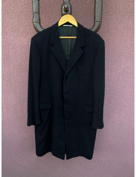 dior-black-cashmere-coat by dior  ×