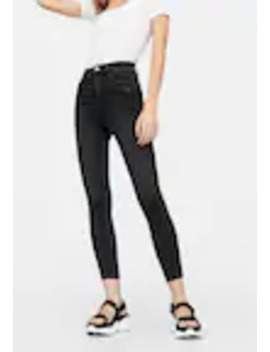 high-waist---jeans-skinny-fit by stradivarius