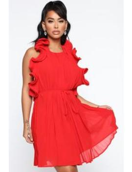 one-hot-date-mini-dress---red by fashion-nova