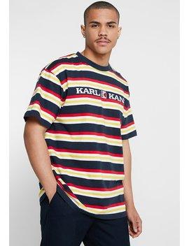 retro-stripe-tee---t-shirt-z-nadrukiem by karl-kani