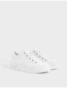 embossed-trainers-with-gems by bershka