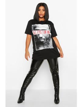 plus-tupac-all-eyez-on-me-license-t-shirt by boohoo