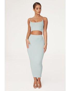 Rylie Midaxi Skirt   Storm by Meshki