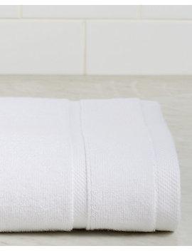 frette-lanes-border-white-bath-towel by frette