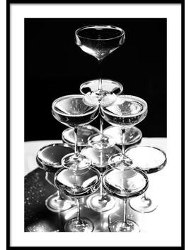 Champagne Tower Poster by Desenio