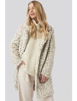 leopard-faux-fur-jacket-mehrfarbig by na-kd-trend