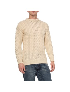J.G. Glover & Co. Aran British Wool Sweater (For Men And Women ) by J.G. Glover & Co.