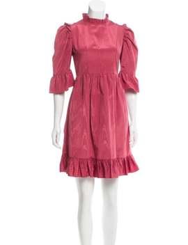 mock-neck-mini-dress by batsheva