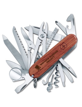 Victorinox Wounded Warrior Project Swisschamp 91mm Swiss Army Knife by Victorinox