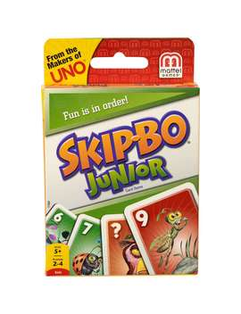 skip-bo-junior,-easy-to-learn-kids-card-game-for-5-year-olds-and-up by mattel