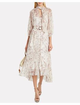 super-eight-silk-safari-dress by zimmermann