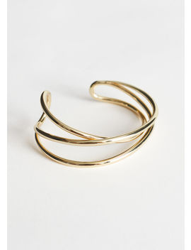 Open Frame Layered Cuff Bracelet by & Other Stories